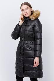 <b>Куртка</b> женская <b>Trussardi</b>, цвет: черный. 36S00162_Black. Размер ...