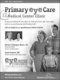medical center clinic print ads pensacola fl primary eye care