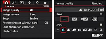 How to Specify Image Format, Size, and <b>Quality</b> on Your Canon EOS ...
