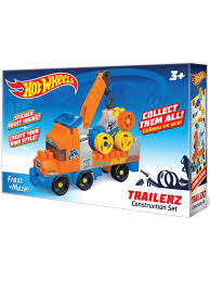 30% Bauer. Конструктор <b>Hot wheels серия trailerz</b> Frost + Mazer