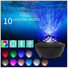 Buy ZUYOKI <b>LED Galaxy</b> Projector Light <b>Starry Night</b> Lamp Star Sky ...