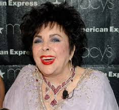 Stylish to the end: Elizabeth Taylor fashionably late for her own funeral - elizabeth-taylor1--z