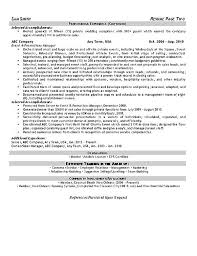 promotions event planner resume example event coordinator resume sample
