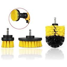 Drillpro 3Pcs 2/3.5/4 Inch Yellow Electric Drill Brush ... - Amazon.com