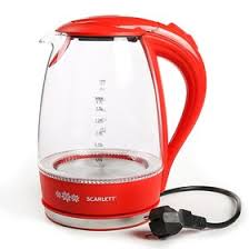 <b>Чайник электрический Scarlett</b> SC-EK27G28, 2200 Вт, 1.7 л ...