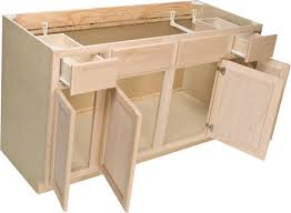 unfinished kitchen doors choice photos: quality onea quot x   quot unfinished oak sink base cabinet with  active drawers at menardsar