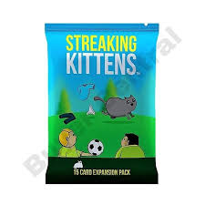 Brand New EXPANSION <b>IMPLODING KITTENS GREAT PARTY</b> ...