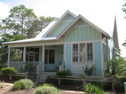 Southern Style Country Cottage House w  Covered Porch  HQ Plans    Front view of the house