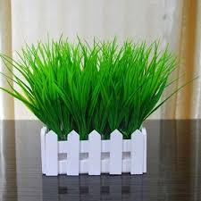 <b>5PCS</b> Green <b>Artificial Plants</b> Decorative Bendable <b>Fake</b> Plastic <b>Plant</b> ...