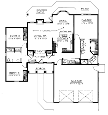 Goodman Handicap Accessible Home Plan D    House Plans and MoreFlorida House Plan First Floor   D    House Plans and More
