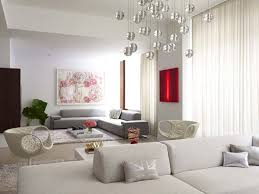 design furniture living room interior decor minimalist ideas with white sofa and beautiful white curtain and luxury round pendant light also two beige chair beautiful beige living room grey sofa