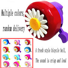 Color Random Send <b>1Pc</b> Flower Decoration Bicycle <b>Handlebar</b> Ring ...