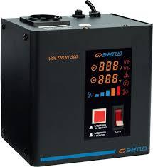 <b>Стабилизатор</b> напряжения <b>Энергия VOLTRON</b>-<b>500</b> - купить в ...