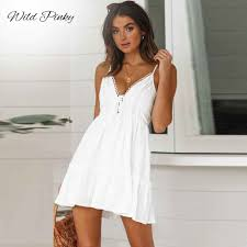 <b>WildPinky</b> 2019 <b>Summer</b> New Fashion <b>Women</b> Elegant Stylish <b>Sexy</b> ...