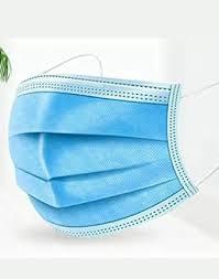 <b>5 PCS</b> Surgical <b>Face</b> Masks 3 Ply - 3 Layers - Sealed Bag: Amazon ...