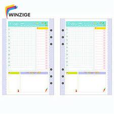 Hot New <b>Cute A5</b>/<b>A6</b>/A7 Notebook's Filler Papers <b>Creative</b> 6 Holes ...