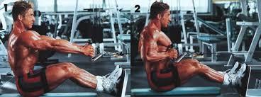 نظام تمرين تضخيم لعضلة الظهر كمال اجسام