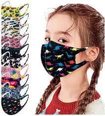 10PC Face Bandanas for Kids, Ice Silk Dustproof ... - Amazon.com
