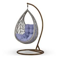 <b>Подвесное кресло АФИНА</b>-МЕБЕЛЬ N886-W70 Light Grey ...