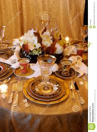 Dining Room Settings Formal Dining Room Place Setting Royalty Free Stock Photo Image