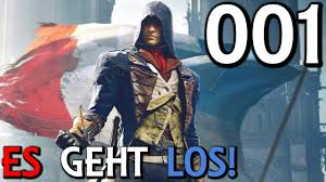 Let's Play Assassin's Creed Unity Gameplay German Deutsch Part <b>1</b> ...