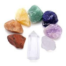 <b>Crystal</b> Tears 7 Chakra <b>Natural Raw</b> Stones <b>Rough</b> Rock <b>Crystals</b> ...