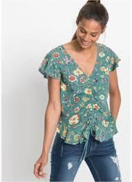 Блузки с <b>коротким рукавом</b> для женщин от bonprix