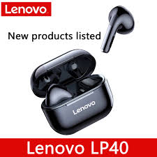 <b>New Lenovo LP40 Wireless</b> Bluetooth Earphones TWS Earbuds ...