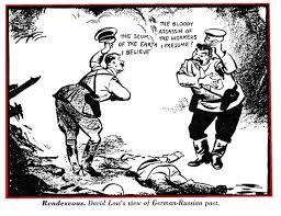 「独ソ不可侵条約 風刺画」の画像検索結果