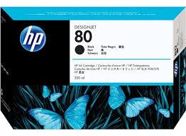 <b>HP 80</b> 350-ml Black DesignJet <b>Ink Cartridge</b> - <b>HP</b> Store Canada