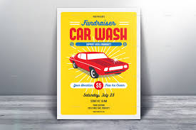 fundraising flyer templates psd vector eps jpg fundraiser car wash flyer