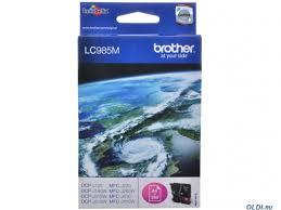 <b>Картридж</b> струйный <b>Brother LC985M</b> пурпурный (magenta) 260 ...