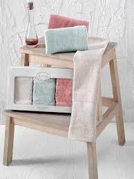 Кухонные <b>полотенца Karna PANDORA</b> 30x50 1/3 <b>бамбук</b> V4