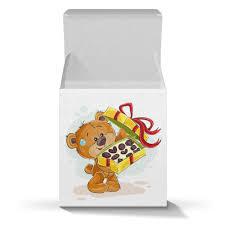 Коробка для кружек <b>Мишка Тэдди</b> #2431066 от BeliySlon