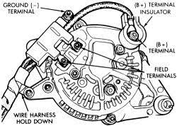 toyota 3 wire alternator wiring diagram wiring diagram on simple 3 wire gm alternator diagram