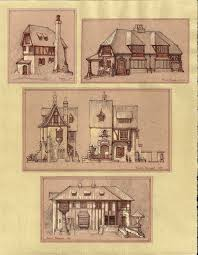 Medieval houses  by Built ever on DeviantArtMedieval houses  by Built ever