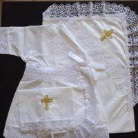 «Комплект <b>крестильный</b> 20-26 <b>Ангелочек</b> для новорожденных ...