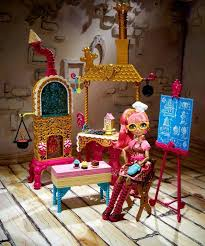 all about monster high sugar coated kitchen playset