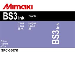 Сольвентные <b>чернила</b> Mimaki <b>BS3 Inks</b> (Black), 600ml ...