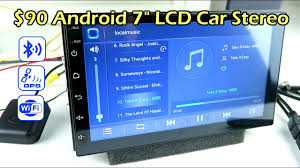 "$90 Budget <b>7</b>"" LCD <b>Android Car Stereo</b> Headunit CK1018 - YouTube"