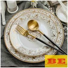 <b>2pcs</b>/set, 8+10 inch, <b>bone</b> china dinner set <b>plates</b> and dishes ...