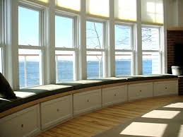 view in gallery clean lined bay window seating bay window seat