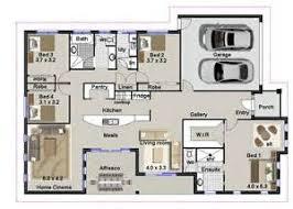 4 bedroom house plan bedroom house plans