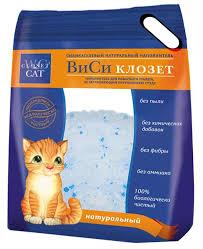 Купить <b>наполнитель</b> «WC <b>for cats</b>» <b>силикагелевый</b>