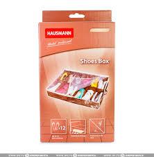 <b>Чехол</b> Hausmann для <b>хранения обуви</b> коричневый 74,5х60х15 см ...