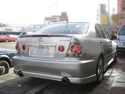 Flat Black 522 ETL <b>Rear Trunk Spoiler</b> Wing For 1998~05 Lexus ...