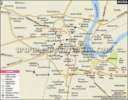 Agra City Map ile ilgili görsel sonucu Agra City Map