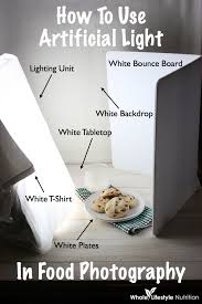 behind the scenes how to use artificial light in food photography whole lifestyle nutrition artificial lighting set
