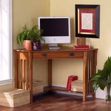 f amazing small brown varnishes oak corner computer desk with a slide out keyboard shelf 1900x1900 amazing wood office desk corner