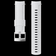 Интегрированный белый силиконовый <b>ремешок Suunto 24</b> мм ...